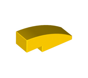 LEGO Yellow Slope 1 x 3 Curved (50950)