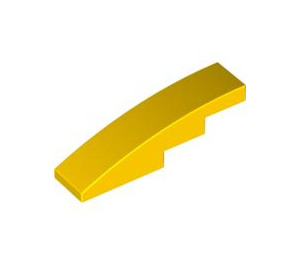 LEGO Yellow Slope 1 x 4 Curved (11153 / 61678)