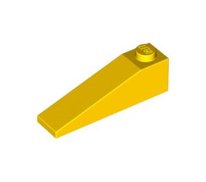LEGO Yellow Slope 1 x 4 x 1 (18°) (60477)