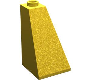 LEGO Yellow Slope 73° (75) 2 x 2 x 3 Double Slope (3685)