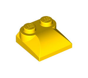 LEGO Yellow Slope Curved 2 x 2 with Curved End (47457)