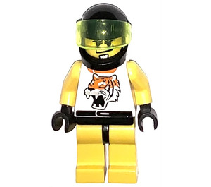 LEGO Yellow Tiger Driver Minifigure