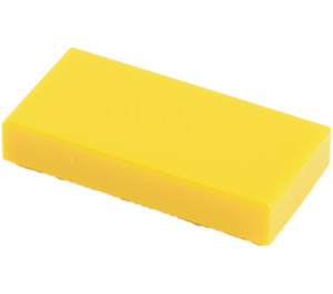 LEGO Yellow Tile 1 x 2 with Groove (3069)