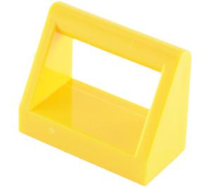 LEGO Yellow Tile 1 x 2 with Handle (2432)
