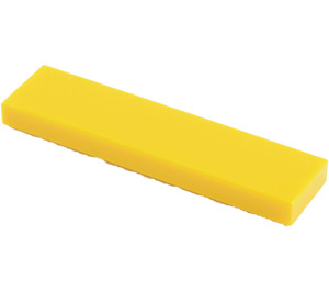 LEGO Yellow Tile 1 x 4 (2431)