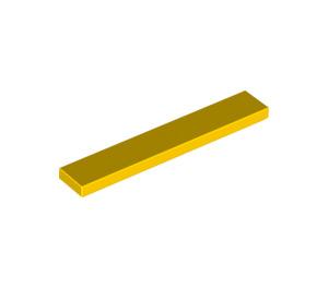 LEGO Yellow Tile 1 x 6 (6636)