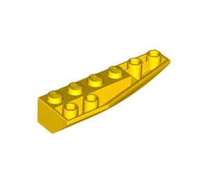 LEGO Yellow Wedge 2 x 6 Double Inverted Right (41764)