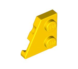 LEGO Yellow Wedge Plate 2 x 2 (27°) Left (24299)