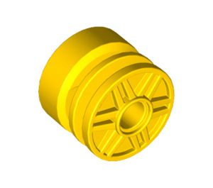 LEGO Yellow Wheel Rim Ø18 x 14 with Pin Hole (20896 / 55981)