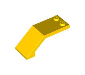 LEGO Yellow Windscreen 5 x 2 x 1 & 2/3 (6070)