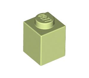 LEGO Yellowish Green Brick 1 x 1 (3005)