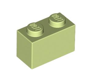LEGO Yellowish Green Brick 1 x 2 (3004)