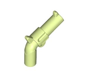 LEGO Yellowish Green Minifig Gun Revolver (30132)