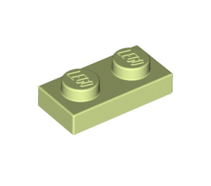 LEGO Yellowish Green Plate 1 x 2 (3023)