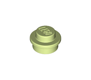LEGO Yellowish Green Round Plate 1 x 1 (6141)