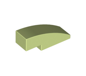 LEGO Yellowish Green Slope 1 x 3 Curved (50950)
