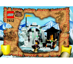 LEGO Yeti's Hideout Set 7412 Instructions