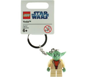 LEGO Yoda Key Chain - Clone Wars (852550)