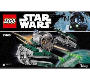 LEGO Yoda's Jedi Starfighter Set 75168 Instructions