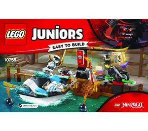 LEGO Zane's Ninja Boat Pursuit Set 10755 Instructions