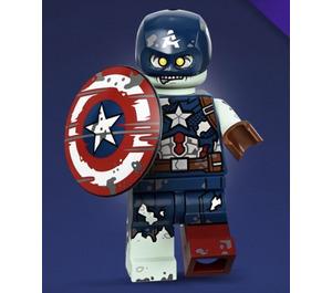 LEGO Zombie Captain America Set 71031-9