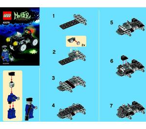 LEGO Zombie Car Set 40076 Instructions