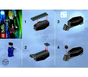 LEGO Zombie chauffeur coffin car Set 30200 Instructions