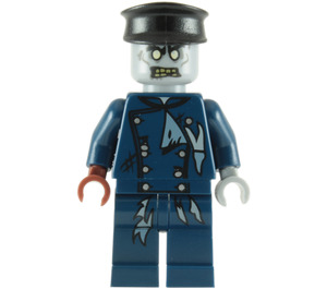 LEGO Zombie Driver Minifigure