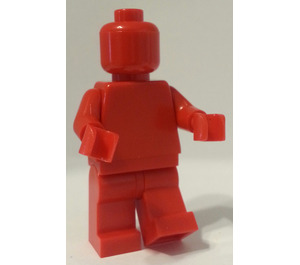 Monochrome Red Minifigure