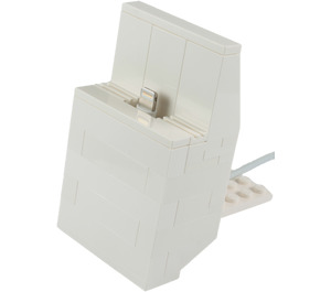 The Daily Brick Lego iPhone 5 Dock (White) Set