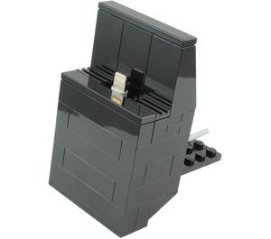 The Daily Brick Lego iPhone SE Dock (Black) Set