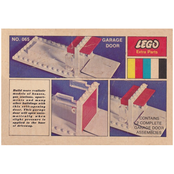 Lego 2 Garage Door Kits Set 065 Brick Owl Lego Marketplace
