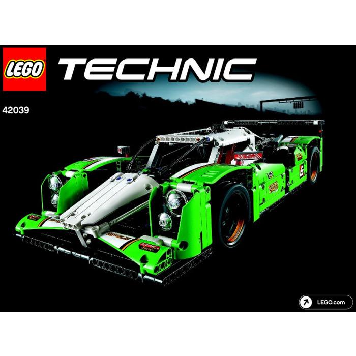 LEGO 24 Hours Race Car Set 42039 Instructions