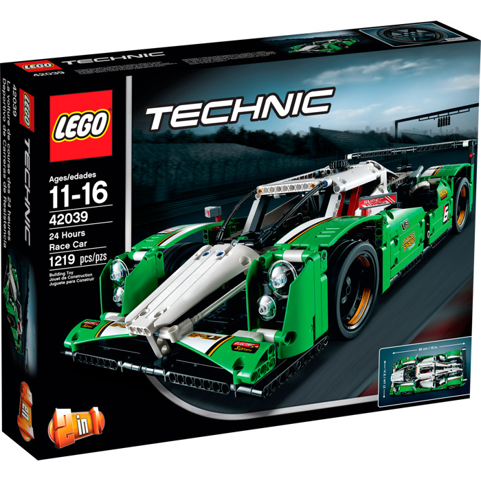 Lego Hours Race Car Set Packaging Brick Owl Lego