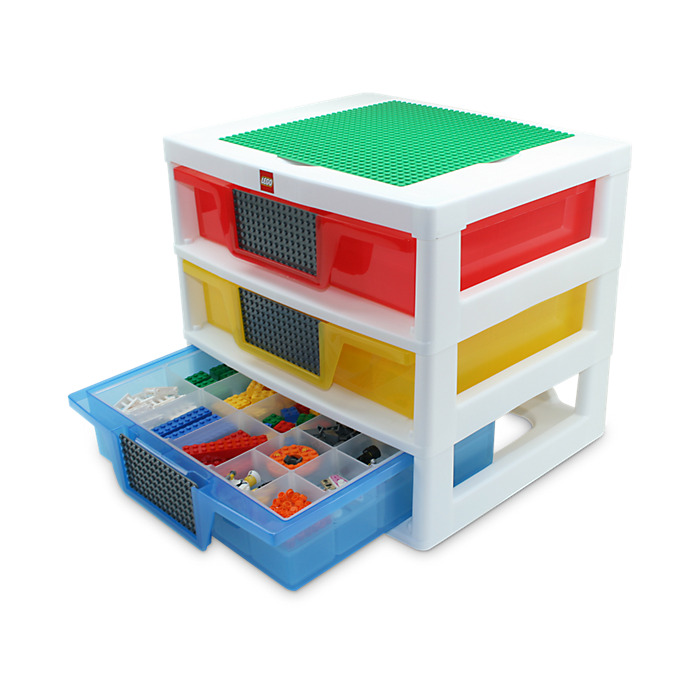 3-drawer storage unit lego 2