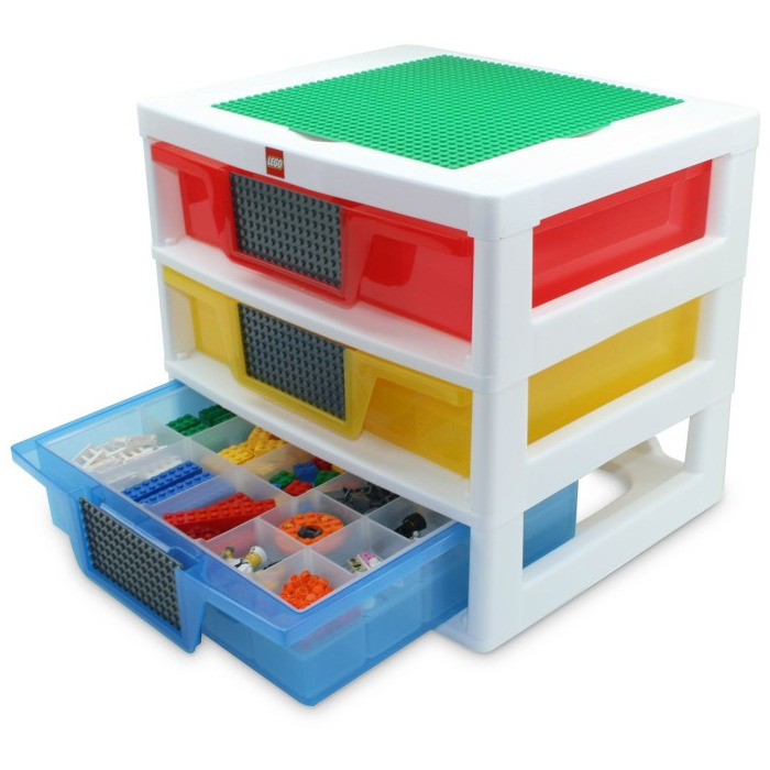 Lego 3 Drawer Storage Unit 5000248 Brick Owl Lego