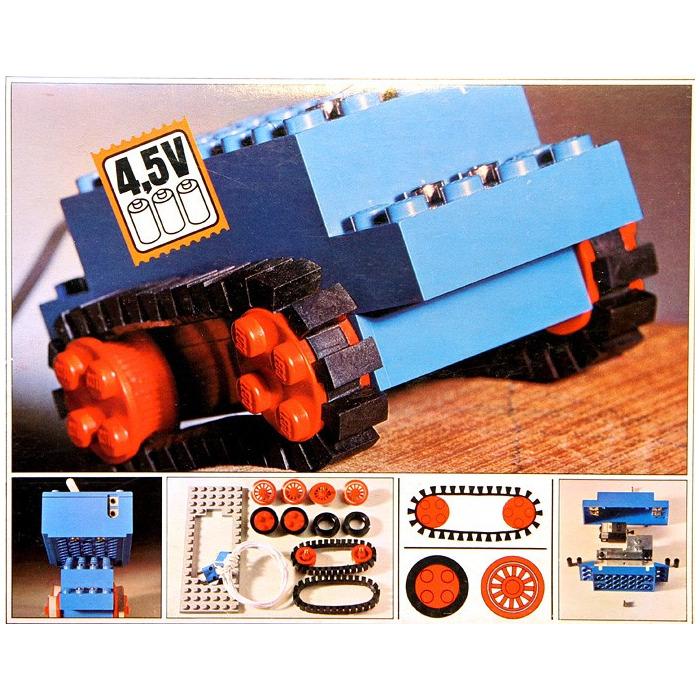 lego 4 5v motor set with rubber tracks 103 1 brick owl. Black Bedroom Furniture Sets. Home Design Ideas