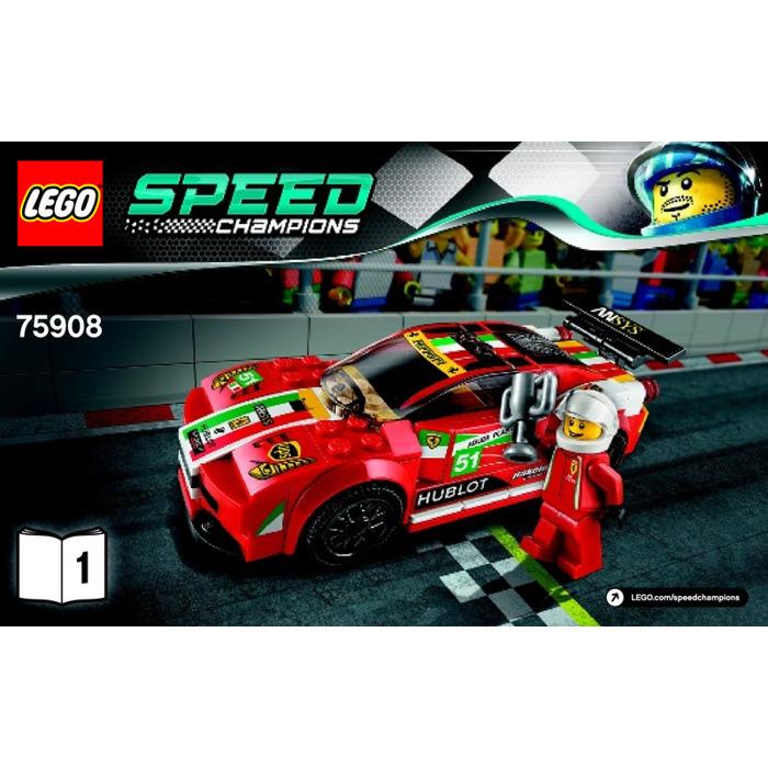 LEGO 458 Italia GT2 Set 75908 Instructions | Brick Owl - LEGO ...