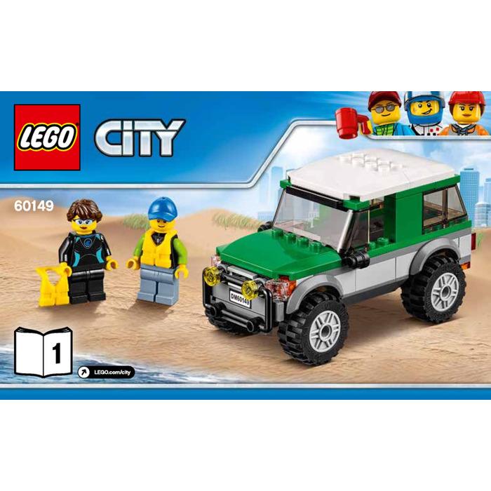 Lego 4x4 With Catamaran Set 60149 Instructions Brick Owl Lego