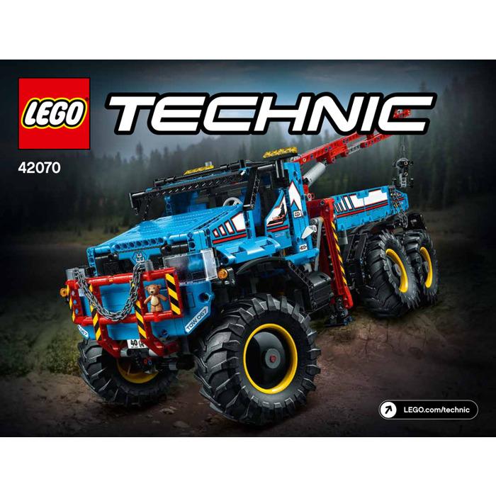 Lego 6x6 All Terrain Tow Truck Set 42070 Instructions Brick Owl