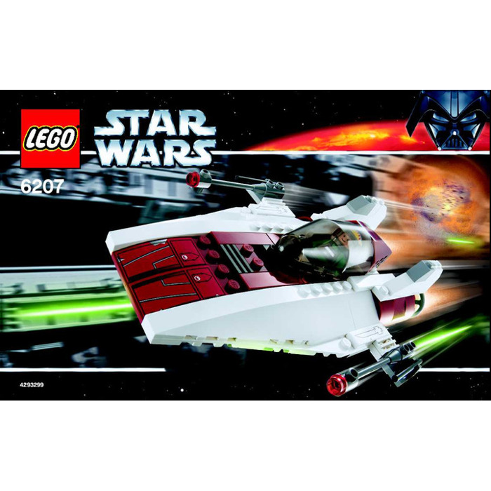 Lego A Wing Fighter Set 6207 Instructions Brick Owl Lego Marketplace