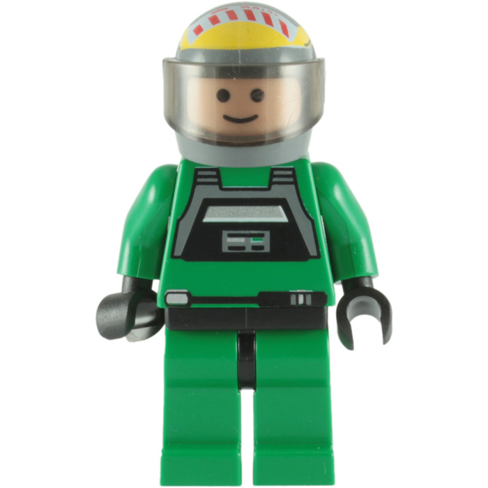 Pilot Vi Home: LEGO Pilot's Jumpsuit Torso With Black Chest Panel (76382