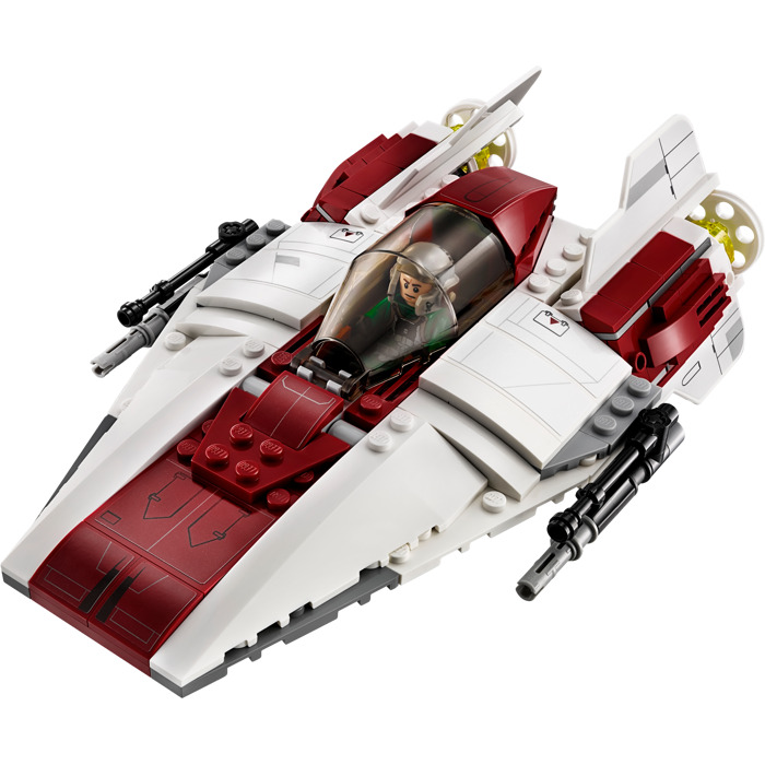 lego a wing starfighter set 75175 brick owl lego marketplace. Black Bedroom Furniture Sets. Home Design Ideas