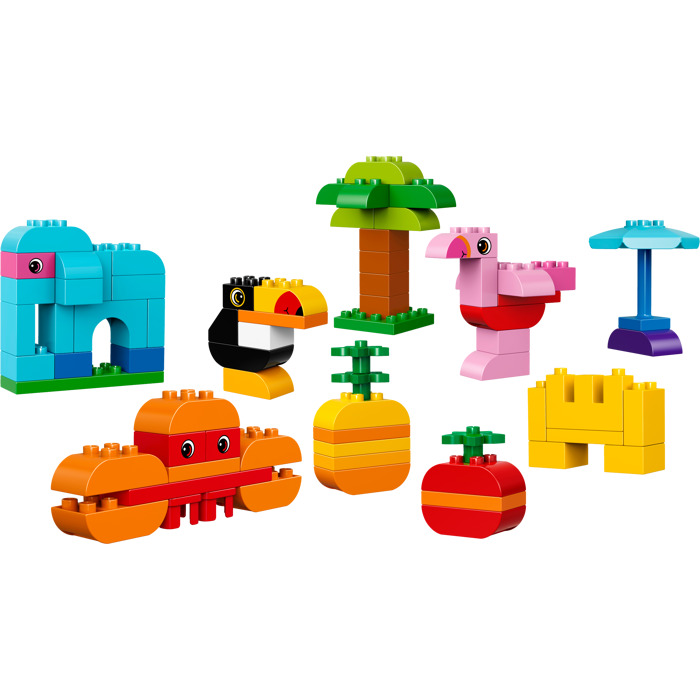 LEGO Duplo Brick 2 x 4 with Curved Bottom (98224) Comes In   Brick ...