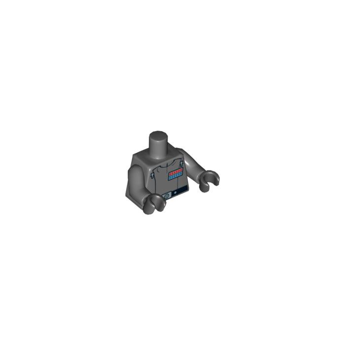 Lego Admiral Piett Torso 76382 Brick Owl Lego Marketplace