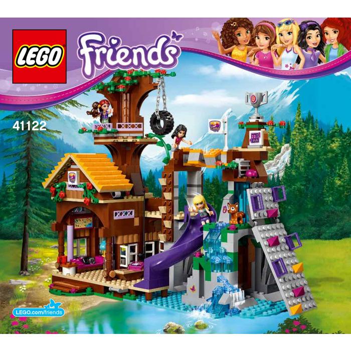 Lego Adventure Camp Tree House Set 41122 Instructions Brick Owl