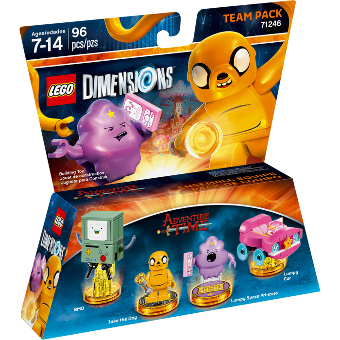 lego adventure time instructions