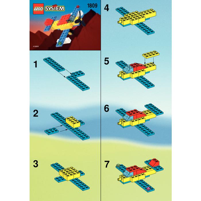 Lego Aeroplane Set 1809 Instructions Brick Owl Lego Marketplace