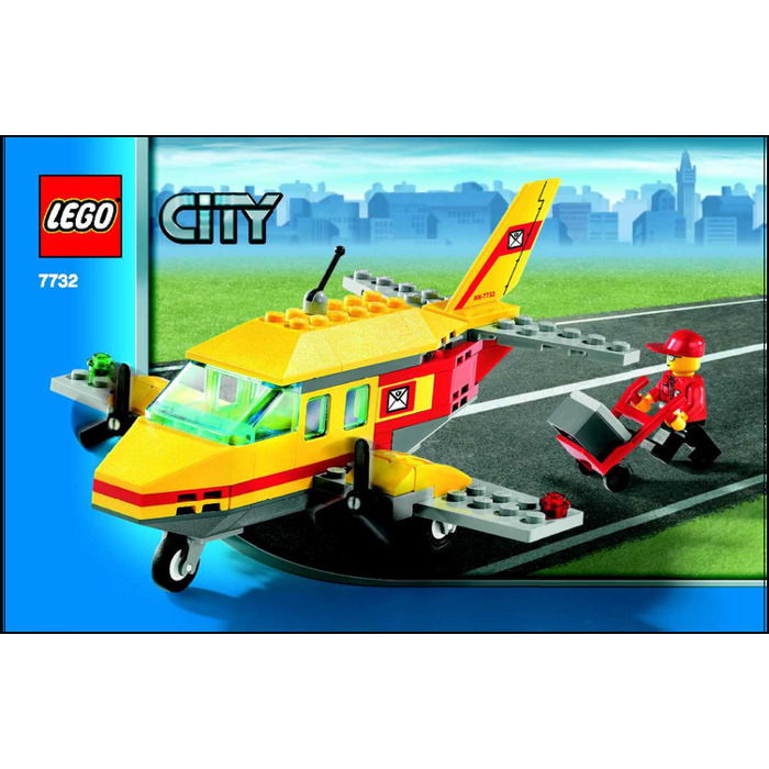 LEGO Air Mail Set 7732 Instructions | Brick Owl - LEGO ...