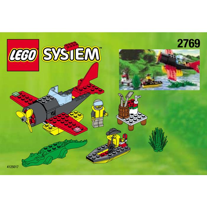 Lego Aircraft And Boat Set 2769 Instructions Brick Owl Lego